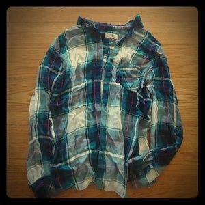 Thread and Supply button down